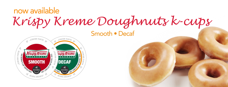 Krispy Kreme smooth and decaf k-cups