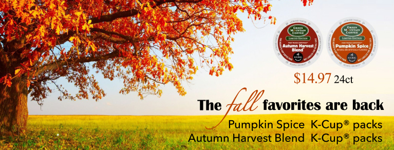 Autumn Harvest Pumpkin Spice K-Cups