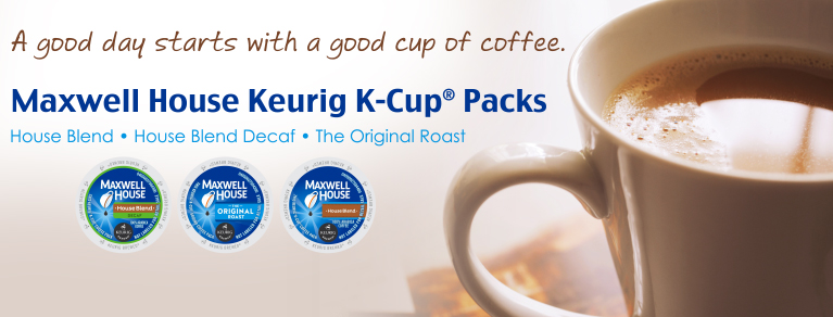 Maxwell House Coffee K-Cups