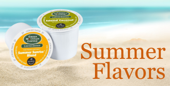 iced k-cups, summer sunrise, island coconut, iced tea kcups