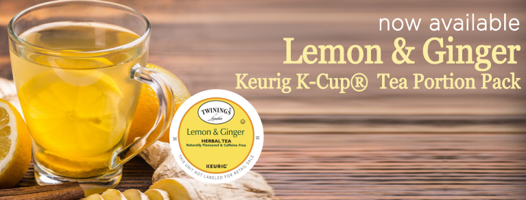 Twinings Lemon & Ginger Keurig K-Cup Tea