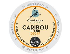 Caribou Coffee Blend Natural Decaf. K-Cup Coffee