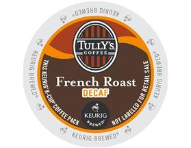 Tully's K-Cup Coffee - French Roast Decaf.