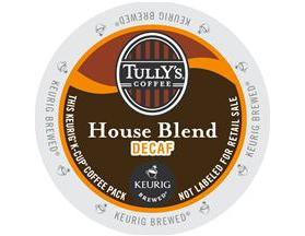 Tully's K-Cup Coffee - House Blend Decaf.