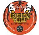 Coffee People Black Tiger Coffee Keurig K-Cups Extra Bold Portion Pack