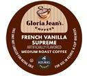 Gloria Jean's French Vanilla Supreme Coffee Keurig K-Cup Portion Pack
