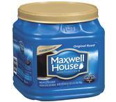 Maxwell House Original Roast Medium Canister