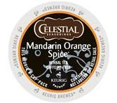 Celestial Seasoning Mandarin Orange Spice Tea Keurig K-Cup® Packs