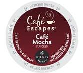 Cafe Escapes Cafe Mocha Keurig K-Cup® packs