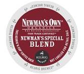 Newman's Own Special Blend Extra Bold Coffee Keurig K-Cup Portion Pack***OUT OF STOCK***