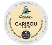 Caribou Blend Coffee Keurig K-Cup® packs