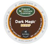 Green Mountain Dark Magic Decaf Coffee Keurig K-Cup Portion Pack