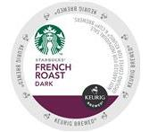 Starbucks French Roast Coffee Keurig K-Cup® Packs