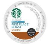 Starbucks Decaf. Pike Place Roast Coffee Keurig K-Cup® Packs