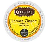Celestial Seasoning Lemon Zinger Keurig Tea K-Cup® packs