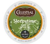 Celestial Seasonings Sleepytime Herbal Tea Keurig K-Cup® Packs