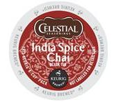 Celestial Seasonings India Spice Chai Tea Keurig K-Cup® Packs