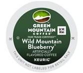 Green Mountain Wild Mountain Blueberry Coffee Keurig K-Cup Portion Pack