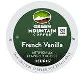 Green Mountain French Vanilla Coffee Keurig K-Cup® Packs