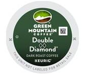 Green Mountain Double Black Diamond Xtra Bold Coffee K-Cup® Packs