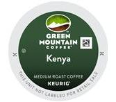 Green Mountain Kenyan AA Coffee Keurig K-Cup® Packs