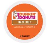 Dunkin Donuts Hazelnut Coffee Keurig K-Cup® Packs