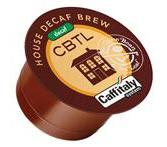 CBTL House Brew Decaf. Capsules  **OUT OF STOCK**