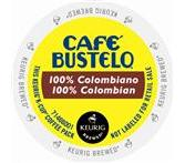 Cafe Bustelo 100% Colombian Coffee Keurig Portion K-Cup® packs