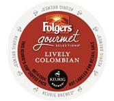 Folgers Lively Colombian Coffee K-Cup® Packs