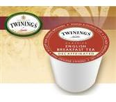 Twinings English Breakfast Decaf. K-Cup Tea Portion Pack