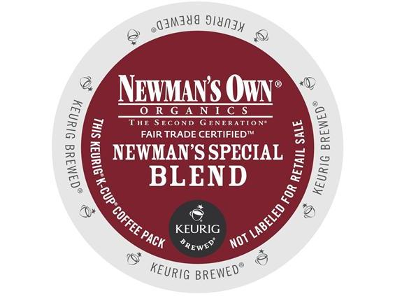 Newman's Own Special Blend Extra Bold K-Cup Coffee