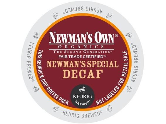 Newman's Own Decaf Special Blend Bold K-Cup Coffee