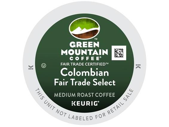 Green Mountain Colombian select CoffeeWiz
