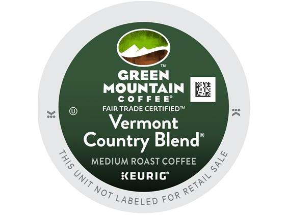 Green Mountain Vermont Country Blend K-Cup Coffee