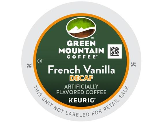 Green Mountain French Vanilla Decaf. K-Cup Coffee