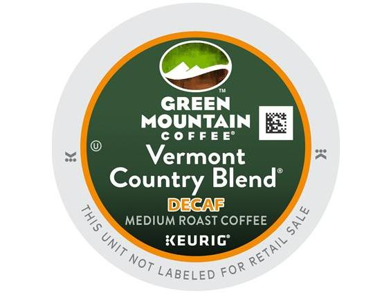 Green Mountain Vermont Country Decaf. K-Cup Coffee
