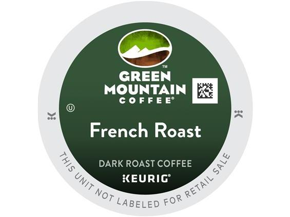 Green Mountain French Roast K-Cup Coffee