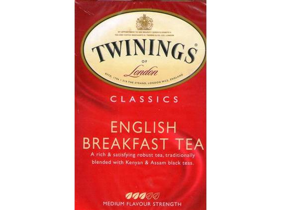 Twinings English Breakfast Bagged Tea