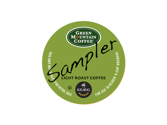 Green Mountain Flavored K-Cup Coffee Sampler