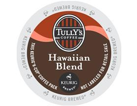 hawaiian blend, Tullys Coffee, CoffeeWiz
