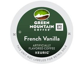 Green Mountain French Vanilla K-Cup Coffee
