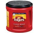 Folgers Classic Roast Ground Coffee Canister