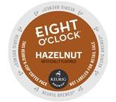 Eight O'Clock Hazelnut Keurig K-Cup® Packs