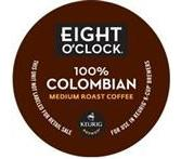 Eight O'Clock 100% Colombian Keurig K-Cup® Packs