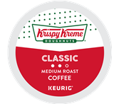 Krispy Kreme Classic Coffee Keurig K-Cup Portion Pack