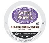 Coffee People Deliciously Dark Coffee Keurig K-Cup® Packs