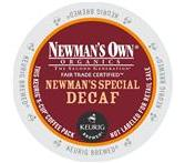 Newman's Own Decaf Special Blend Bold Coffee Keurig K-cup Portion Pack