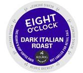 Eight O'Clock Dark Italian Roast Keurig K-Cup® Packs