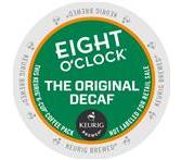 Eight O'Clock The Original Decaf. Keurig K-Cup® Packs