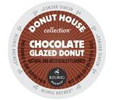 Donut House Collection Chocolate Glazed Donut Keurig K-Cup® Packs